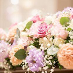結婚式♡披露宴会場 装飾&装花の写真 7枚目