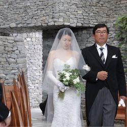 軽井沢石の教会【挙式】の写真 11枚目