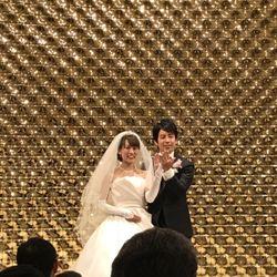 指輪交換、誓いのキスの写真 3枚目