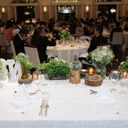 高砂&ゲストテーブルの写真 4枚目