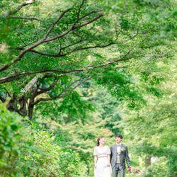 洋装前撮り 森の写真 2枚目