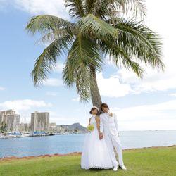前撮り(Hawaii)の写真 9枚目