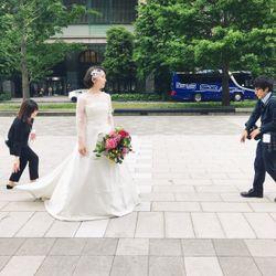 東京駅ロケーション撮影フォトの写真 1枚目