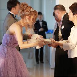 結婚式で感動したことの写真 4枚目