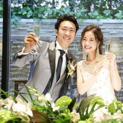 アルカンシエル luxe mariage大阪での結婚式