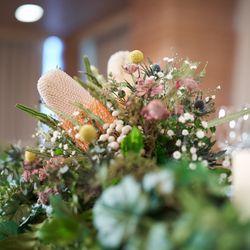 ブーケ💐装花の写真 3枚目