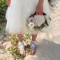 "self photo wedding ""Miyakojima"" の写真 5枚目"