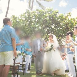 【ハワイ】挙式の写真 4枚目