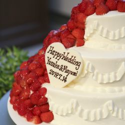 wedding cakeの写真 4枚目