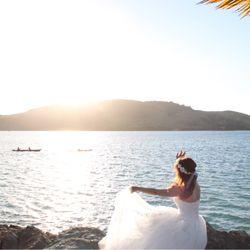 新婚旅行セルフ後撮りの写真 11枚目