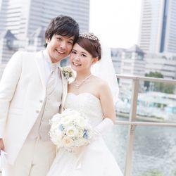 結婚式♡挙式〜バルーンリリースの写真 12枚目