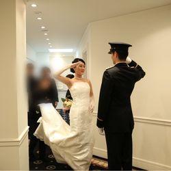 披露宴ウェディングドレスの写真 2枚目