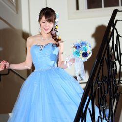 カラードレスと装飾の写真 6枚目