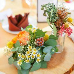 高砂、テーブル装花の写真 8枚目