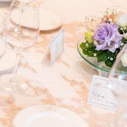 結婚式♡披露宴会場 装飾&装花の写真 2枚目