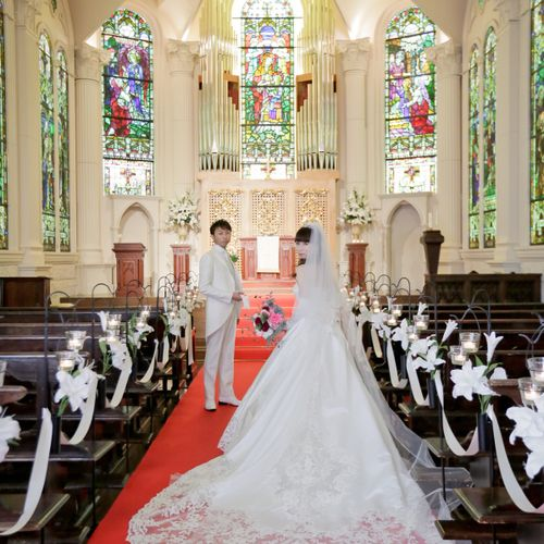 minwedding_0708さんのモンサンミッシェル大聖堂 ~ザ・ガーデンコート なんばパークス~写真5枚目