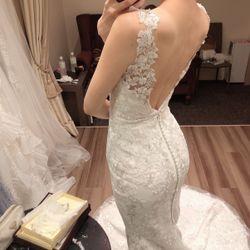 ウェディングドレス試着の写真 2枚目