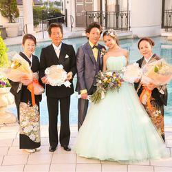 結婚式終わりの写真 1枚目