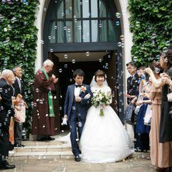 南青山サンタキアラ教会での結婚式