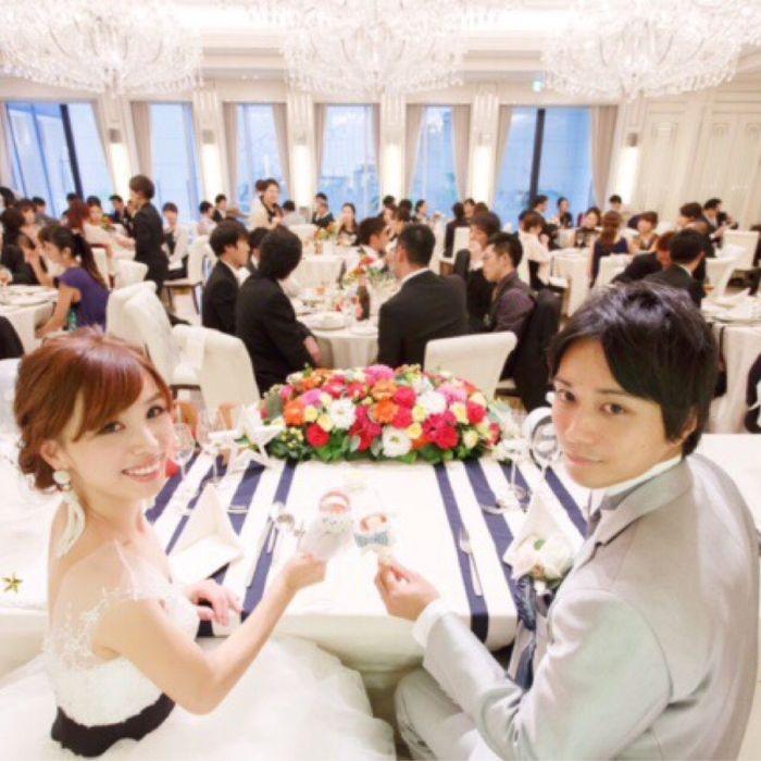 mifu_weddingさんのシャルマンシーナ東京カバー写真