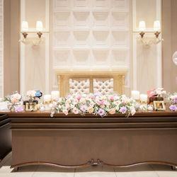 結婚式♡披露宴会場 装飾&装花の写真 9枚目