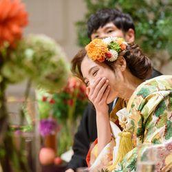 披露宴〜和装〜の写真 16枚目