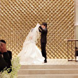 指輪交換、誓いのキスの写真 4枚目