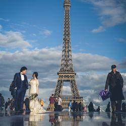 パリ後撮り 新婚旅行の写真 3枚目