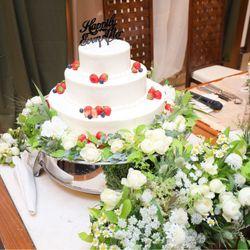 ウェディングケーキ&ファーストバイト&サンクスバイトの写真 1枚目