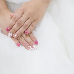 bridal nailの写真 2枚目