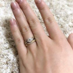 婚約指輪の写真 1枚目