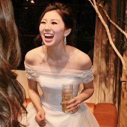 披露宴 二次会ドレスの写真 1枚目