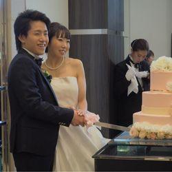 披露宴ケーキカット&オリジナルケーキの写真 6枚目