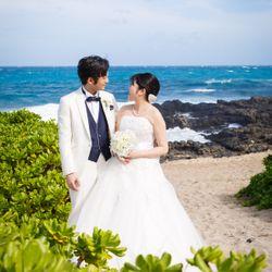ハワイ婚の写真 1枚目