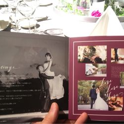 席次表、プロフィールブックの写真 4枚目