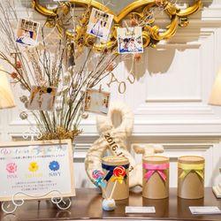 結婚式♡披露宴会場 装飾&装花の写真 13枚目