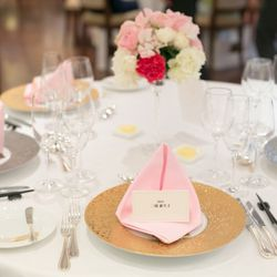 料理、テーブル装花の写真 2枚目