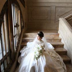 ウェディングドレス撮影の写真 14枚目