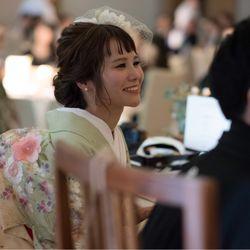 reception / kimonoの写真 26枚目