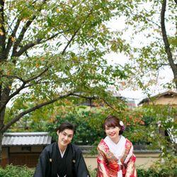 京都前撮り♥色打掛の写真 2枚目
