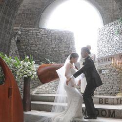 軽井沢石の教会【挙式】の写真 29枚目