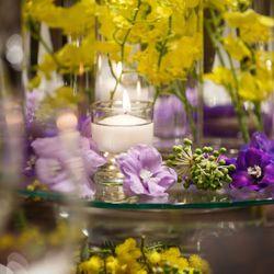 ゲストテーブル装花の写真 4枚目