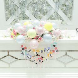 高砂、装花、テーブルコーディネートの写真 2枚目