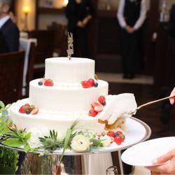 ウェディングケーキ&ファーストバイト&サンクスバイトの写真 4枚目
