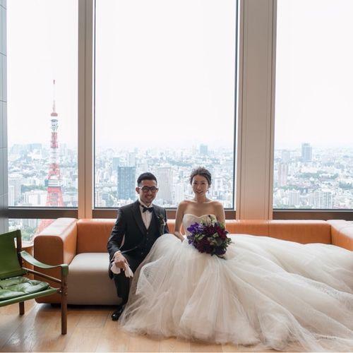 g.wedding2018さんのアンダーズ東京写真5枚目