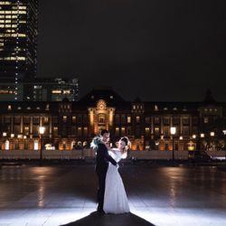 東京駅・東京タワー前撮りの写真 3枚目