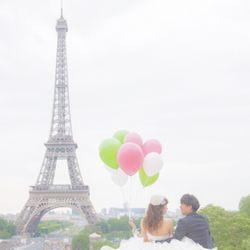 パリ前撮りの写真 1枚目