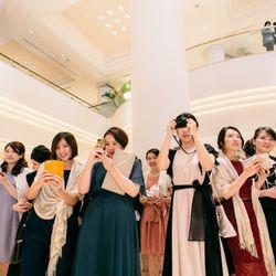 挙式後のサプライズプロポーズの写真 12枚目