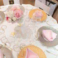 料理、テーブル装花の写真 3枚目