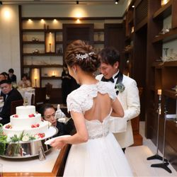 ウェディングケーキ&ファーストバイト&サンクスバイトの写真 3枚目